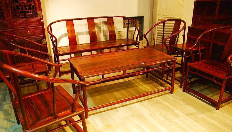 元亨利家具圈椅式B-S-0364-78沙发B-S-0364-78