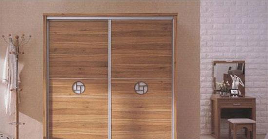 森盛家具卧房套装浅胡桃系列04(衣柜)D7T02