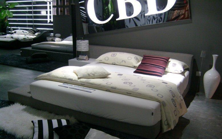 CBD布艺软床120120