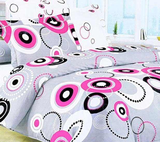 爱可梅尔菲红蔷薇床上用品欧式斜纹全棉四件套S0S0903011