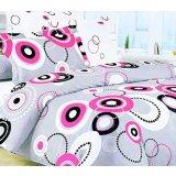 爱可梅尔菲红蔷薇床上用品欧式斜纹全棉四件套S0