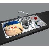 GORLDE优质不锈钢水槽/洗菜池 环保星系列HBS-4