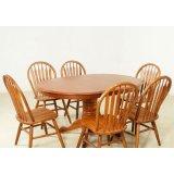 考拉乐橡树森林系列05-200-2-900B一桌六椅