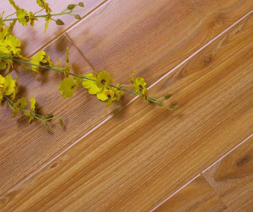 格林德斯.泰斯地板强化复合地板钻石U型槽-缅甸缅甸黄胡桃
