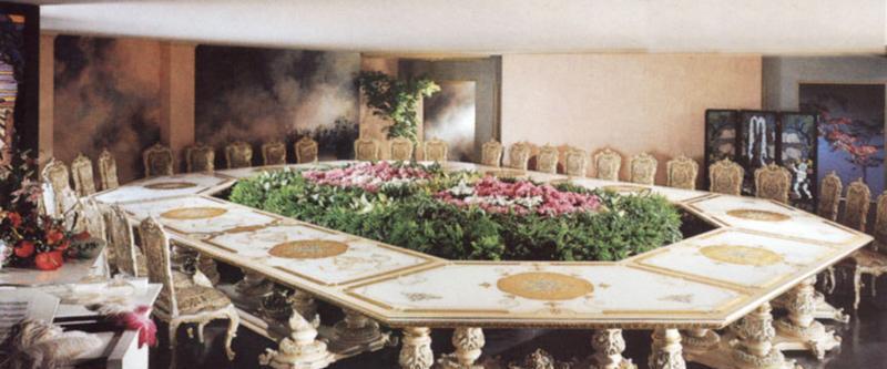 罗浮居会议桌意大利SILIK家具F1-43-015-D26F1-43-015-D26