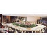 罗浮居会议桌意大利SILIK家具F1-43-015-D26