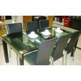 国安佳美餐厅家具-大餐桌ADS-81008