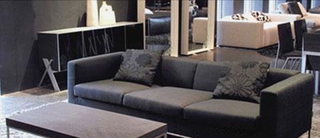 北山家居客厅家具多人沙发1SC041AD-41SC041AD-4