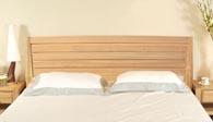树之语全实木水曲柳原木系列A-双人床7#1.8M