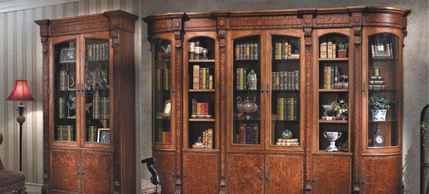 大风范家具路易十六书房系列LV-552-2组合双门书LV-552-2组合双门书柜..