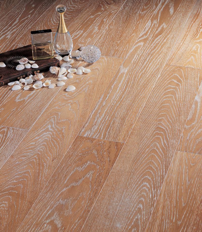 北美枫情实木复合地板王后居室系列-银海岸银海岸