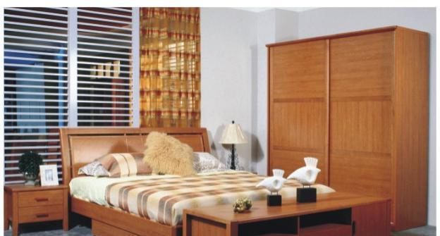 华源轩卧室1.8m床樱桃2代系列R2805ALR2805AL