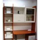 诺捷书房家具-电脑桌7E501-R+7E602