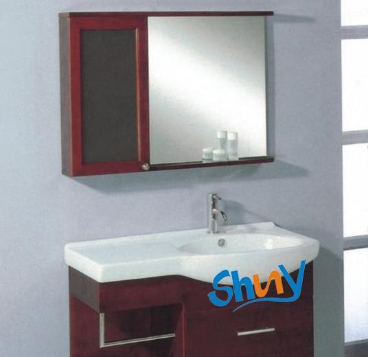 顺一J119实木浴室柜J119