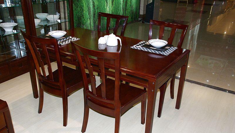 华日餐厅家具-现代东方系列长城魂-餐桌HA3825BHA3825B