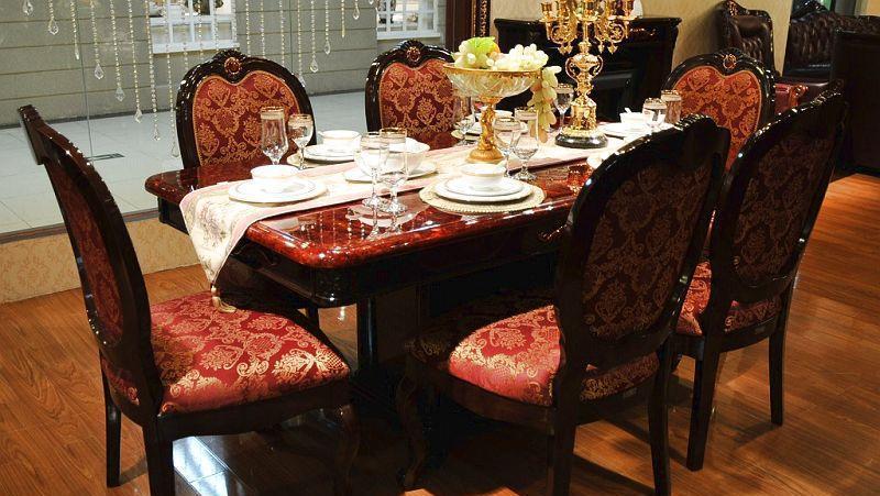 中信沃伦餐厅家具餐椅606-3606-3