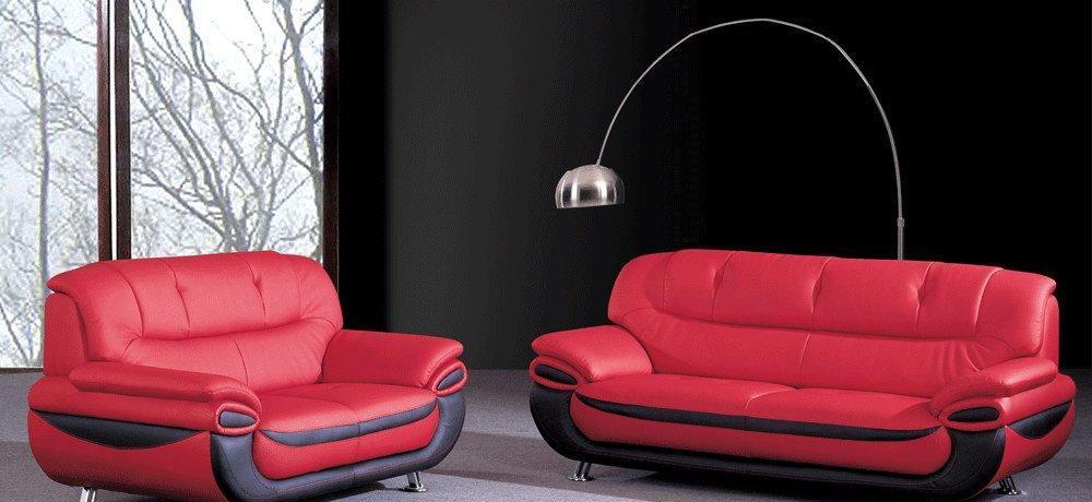 弗里明斯A902现代真皮沙发A902