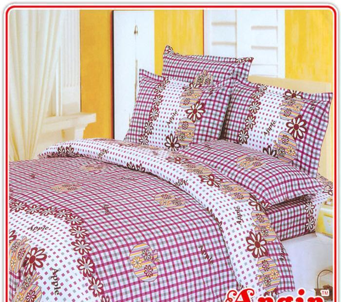 安寝家纺幸福时光高级斜纹床上用品四件套幸福时光