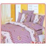 安寝家纺幸福时光高级斜纹床上用品四件套