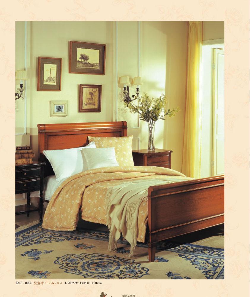 大风范家具洛可可儿童房系列RC-882儿童床RC-882儿童床