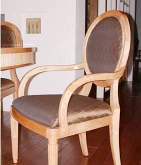 赛恩世家餐厅家具扶手餐椅SP286SP286