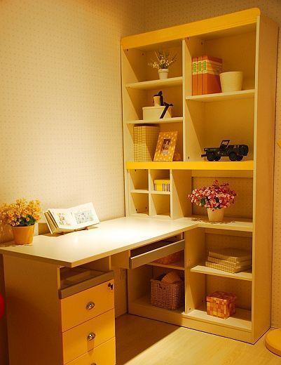 我爱我家儿童家具FM03书柜+书桌组合FM03