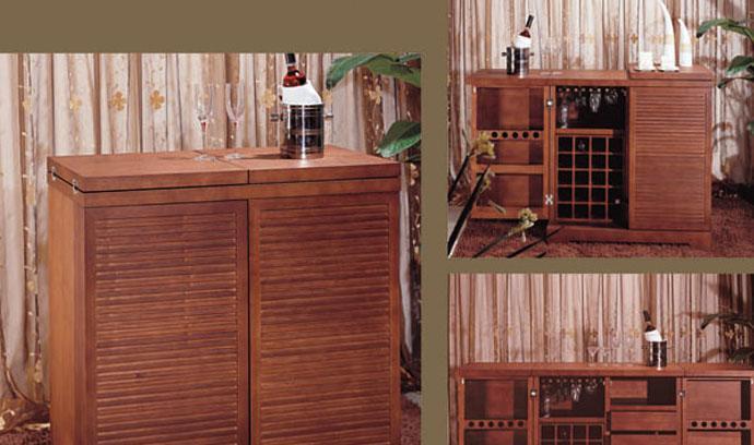 树之语餐厅家具诗琴韵系列2C03-021餐柜2C03-021餐柜