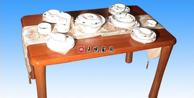 光明106-4104-1200 4#餐桌1.2m106-4104-1200