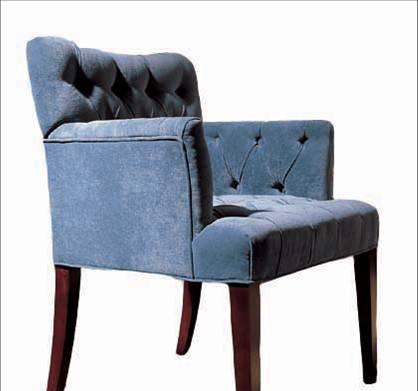美凯斯客厅家具经典恋人系列扶手椅M-C358W(TRS-M-C358W(TRS-221)