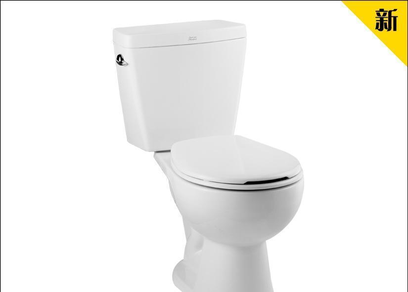 美标分体座厕6升单冲圆端系列新埃高CP-2776.101CP-2776.101