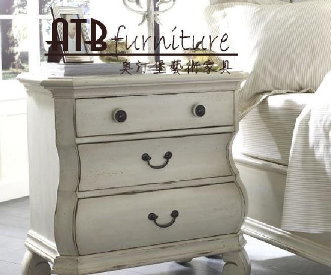 奥汀堡艺术家具克洛伊系列AD717A床头柜AD717A
