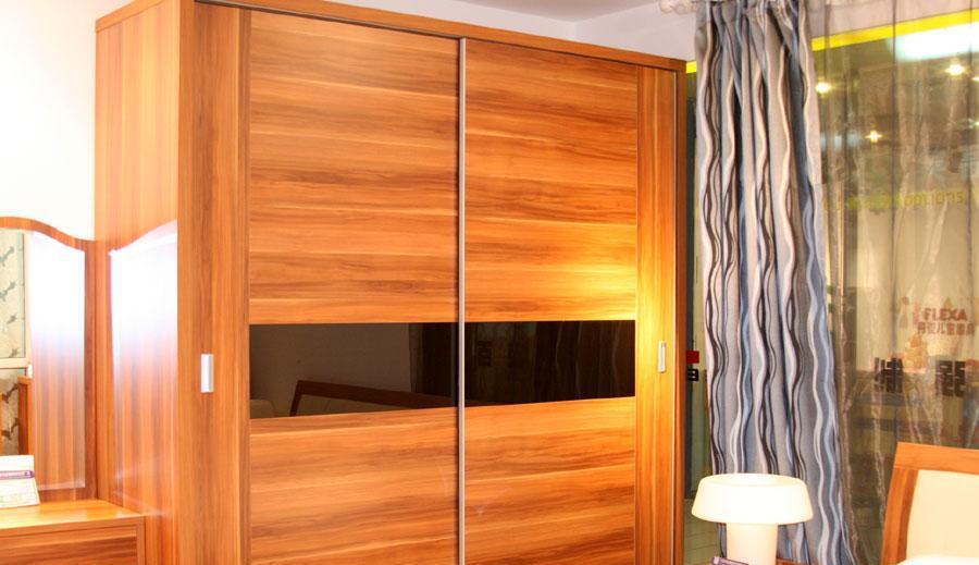 百强卧室家具内两门推拉衣柜8A1-11BW208A1-11BW20