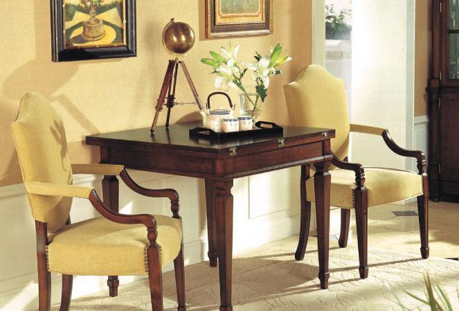 大风范家具低调伯爵餐厅系列CL-721-1扶手椅(布CL-721-1扶手椅