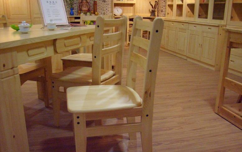 香柏年松木餐椅E04-1号E04-1号