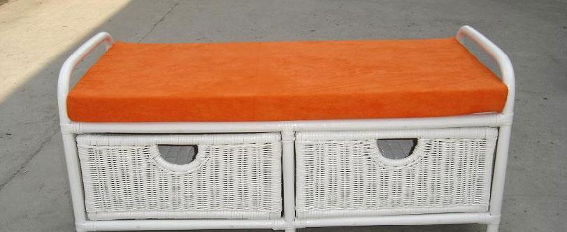 凰家御器休闲双人换鞋凳NH-Y020NH-Y020