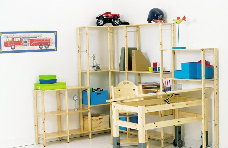 芙莱莎儿童松木家具学习桌290213290213