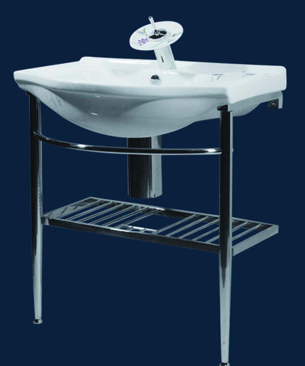 马丁卫浴MT-862K-14不锈钢支架盆