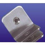 富力玻璃90度不锈钢方形夹(单面)B019