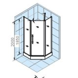 阿波罗简易淋浴房TS系列TS-6339