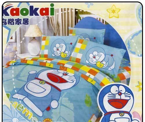 夜雅家纺机器猫哆啦A梦四件套(09梦幻)
