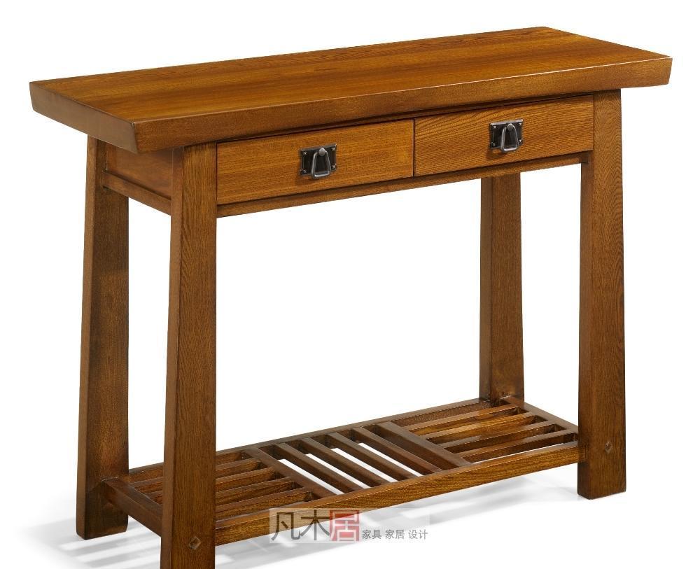 凡木居简约日式系列A4011两抽桌A4011