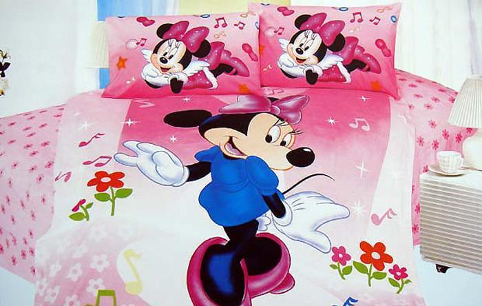 艺森家纺床上用品三件套全棉性印染卡通TD-201-