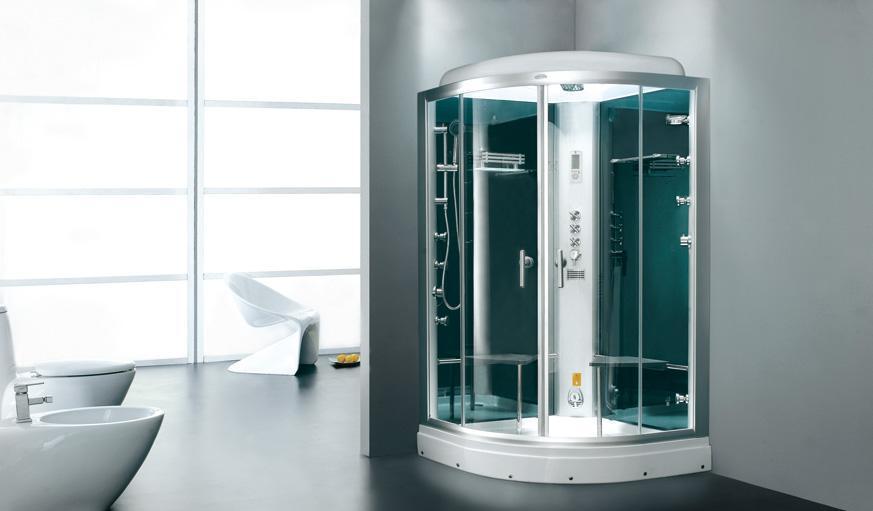 英皇带缸单人整体淋浴房EF012R(法国绿)EF012R(法国绿)