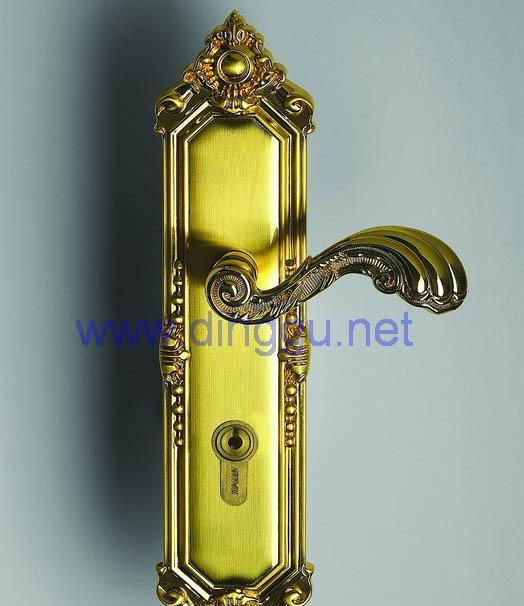 顶固A31-8969SKB锌合金欧式豪华插芯锁A31-8969SKB