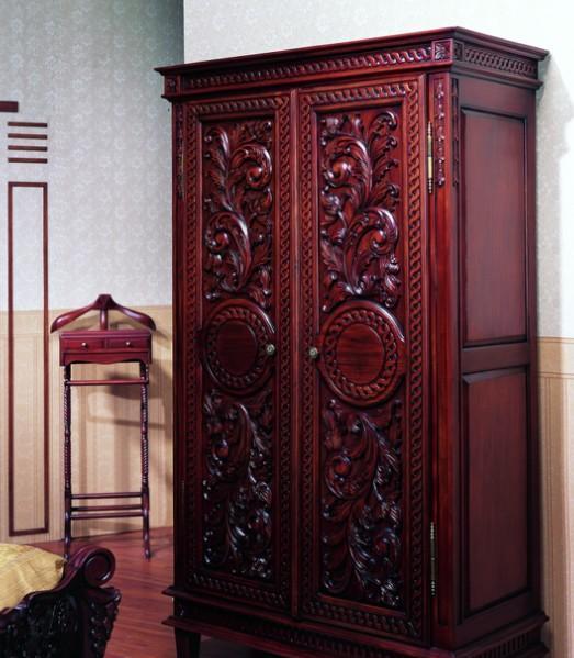 至尊王室两门雕花衣柜SWLMR.909SWLMR.909