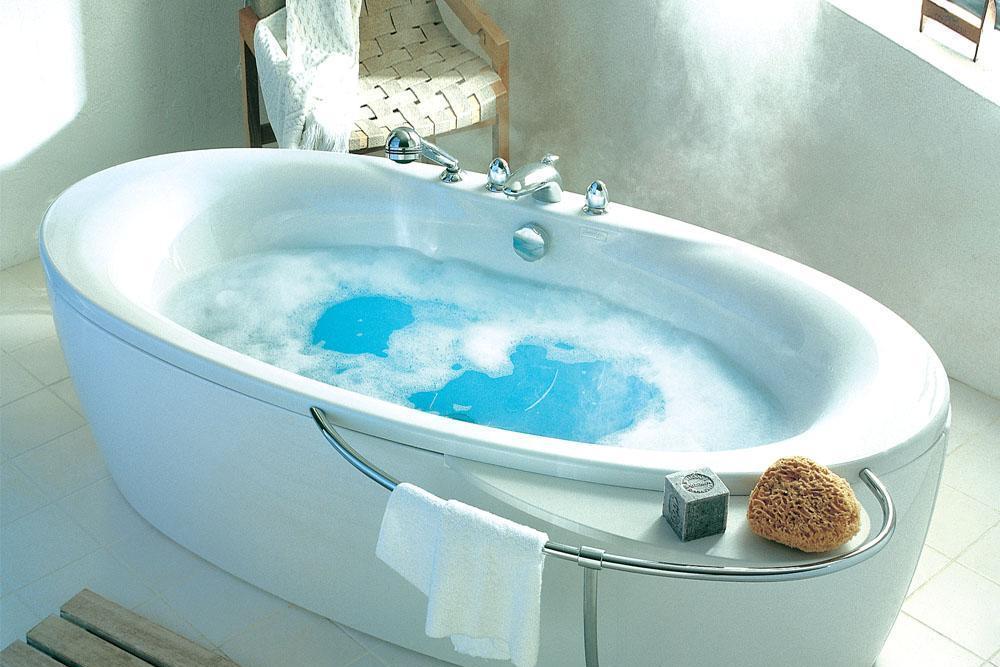 科勒-佩斯格 独立式按摩浴缸K-16222T-R/-LK-16222T-R/-L