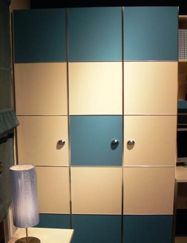 我爱我家家具-板式三门柜F012F012