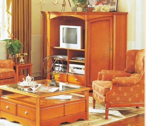 大风范家具新洛可可客厅系列RC-854-1电视柜RC-854-1电视柜