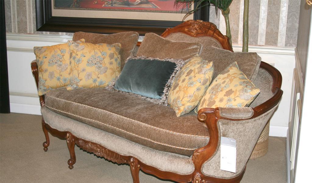 美克美家MK7540-1 20555 M08布艺三人沙发MK7540-1 20555 M08