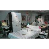 七彩人生整体卧室安比时尚环保烤漆板式家具现代